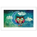 My Crescent Owl Large Poster