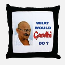 nonviolence Throw Pillow