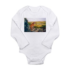 Animal Long Sleeve Infant Bodysuit