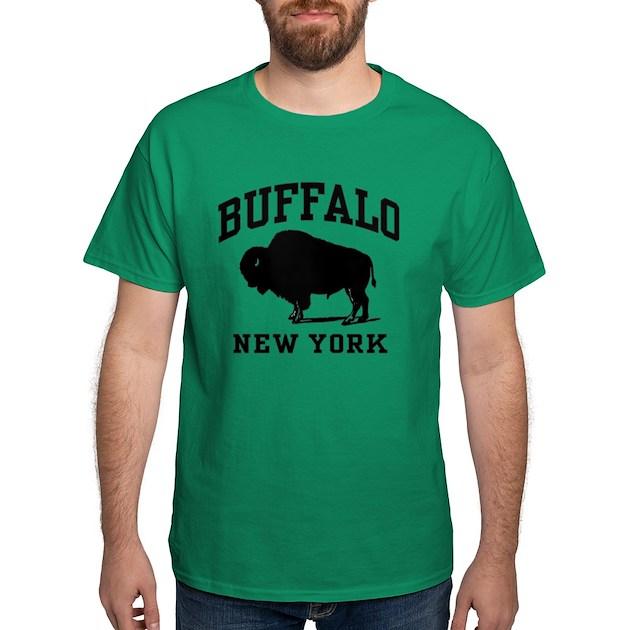 Buffalo New York Dark T-Shirt Buffalo New York T-Shirt