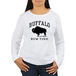 Buffalo New York Women's Long Sleeve T-Shirt