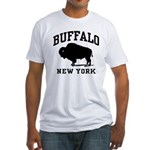 Buffalo New York Fitted T-Shirt