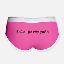I Speak Portuguese Women's Boy Brief