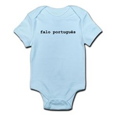 I Speak Portuguese Infant Bodysuit