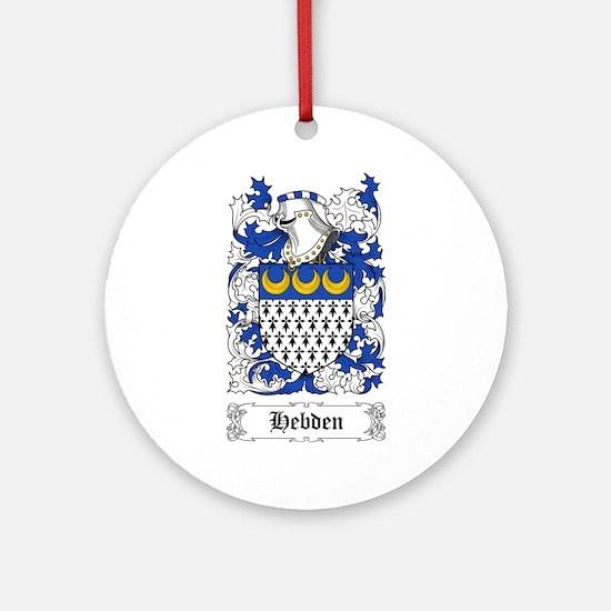 Hebden Ornament (Round)