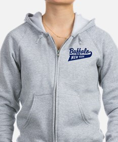 Buffalo New York Zipped Hoody