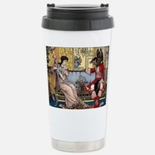Cute Beauty and the beast Travel Mug