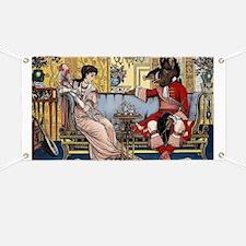 Cute Vintage fairy tale Banner