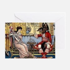 Funny Castles Greeting Card
