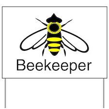 BeeKeeper 3 Yard Sign