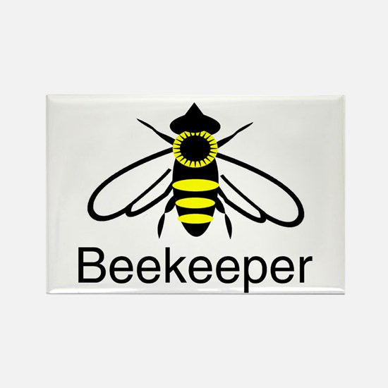BeeKeeper 3 Rectangle Magnet