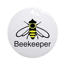BeeKeeper 3 Ornament (Round)