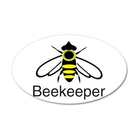 BeeKeeper 3 38.5 x 24.5 Oval Wall Peel