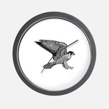 falcon (black) Wall Clock