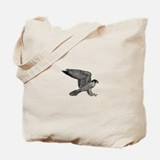 falcon (black) Tote Bag