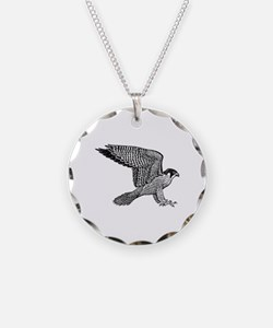 falcon (black) Necklace