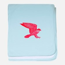falcon (red) baby blanket