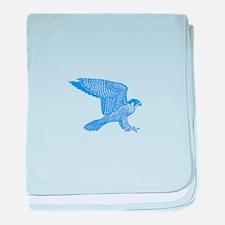 falcon (blue) baby blanket