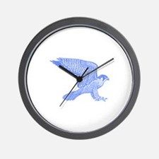 falcon (blue) Wall Clock