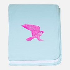 falcon (pink) baby blanket