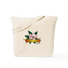Cool Magnolia Tote Bag