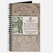 Vintage Samuel W. Peck & Co ad Journal