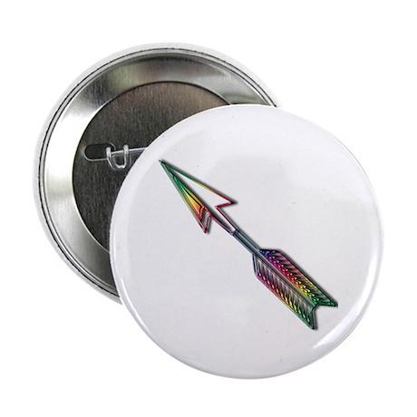 """""""Rainbow Arrow"""" 2.25"""" Button (10 pack)"""