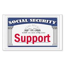 Social Security Decal