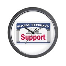 Social Security Wall Clock