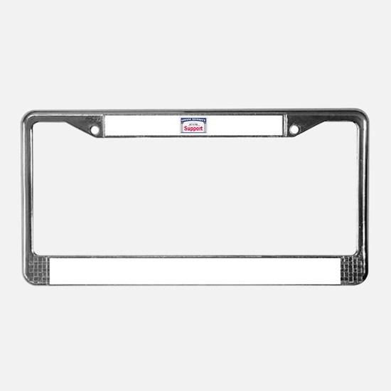 Social Security License Plate Frame