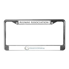 Cute Suny college of optometry License Plate Frame
