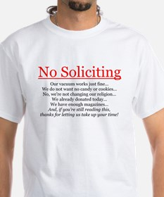 No Soliciting Shirt