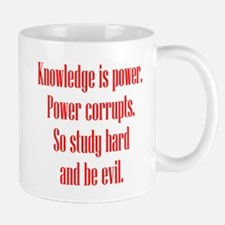 Knowledge and Evil Mug