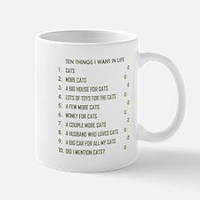 TEN THINGS I WANT... Mugs