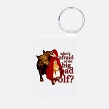 Who's Afraid of the Big Bad Wolf Keychains