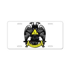 Masonic Aluminum License Plate