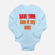 See it My Way Long Sleeve Infant Bodysuit