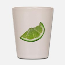 lime wedge Shot Glass