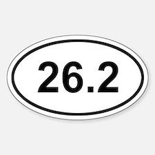 26.2 Marathon Decal