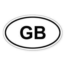 GB Great Britain Decal