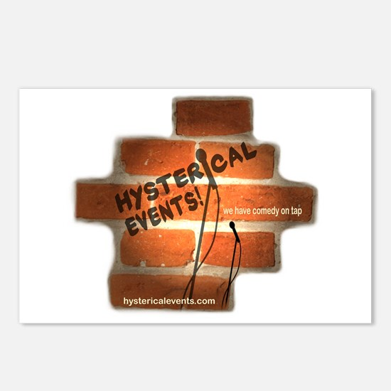 Hysterical Events Postcards (Package of 8)