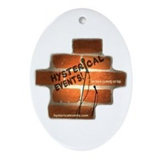 Hysterical Events Ornament (Oval)