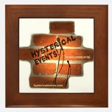 Hysterical Events Framed Tile