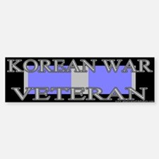 Korean Service Ribbon Bumper Bumper Bumper Sticker