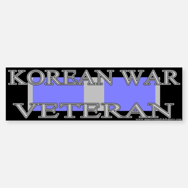 Korean Service Ribbon Bumper Bumper Bumper Sticker