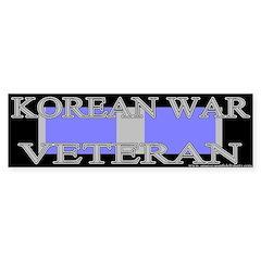 Korean Service Ribbon Bumper Sticker