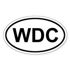 WDC Washington DC Decal