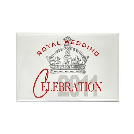 Royal Wedding Celebration Rectangle Magnet (10 pac