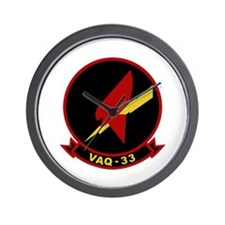 VAQ-33 Wall Clock
