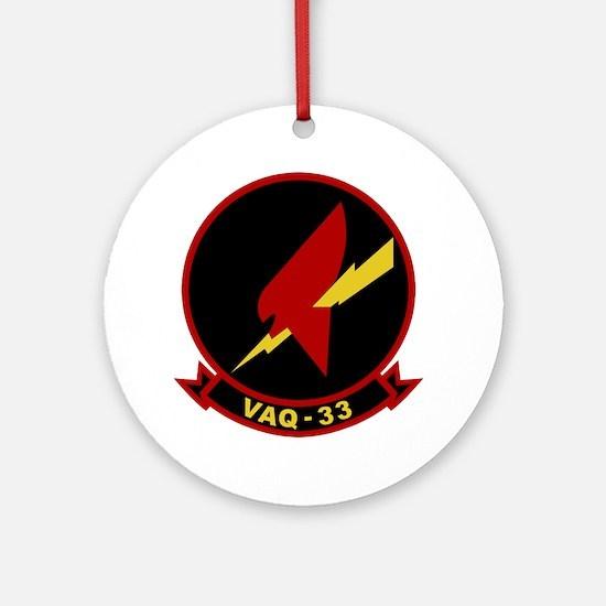 VAQ-33 Ornament (Round)